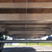 Plateforme 102x18 en aluminium 2x5200 lbs deckover flat bed