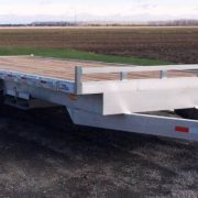 Plateforme deckover flat bed 101 10000 lbs aluminium