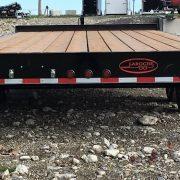 Remorque 102x16 2x3500 lbs plate-forme Laroche freins