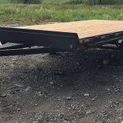 Remorque 102x16 Laroche 2x3500 lbs freins rail pour rouleaux