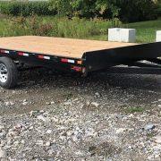 Remorque 102x16 freins Laroche 2x3500 lbs