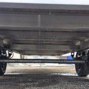 Remorque 102x20 2x5200 lbs en aluminium deck over