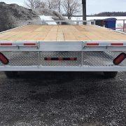 Remorque 102x20 en aluminium 2x5200 lbs deck over