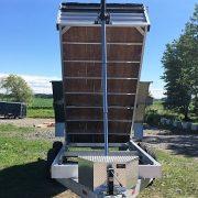 Remorque 6x12 2x5200 lbs dompeur hydraulique en aluminium
