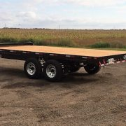 Remorque LA26DE Laroche deck over Flat bed 102x16
