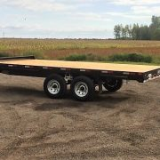 Remorque Laroche LA26DE Flat bed deck over 102x16