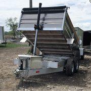Remorque dompeur en aluminium 6x10 2x5200 lbs