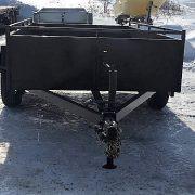 Remorque 5x10 Laroche 5x10 LA13DE 2x3500 lbs côtés 16 po freins