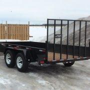 Remorque 6x12 2x3500 lbs LA19ADE Laroche avec porte rampe