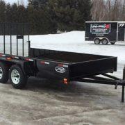Remorque 6x12 Laroche 2x3500 lbs LA19ADE porte rampe