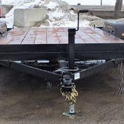 Remorque 80x16 Laroche rampes 2x3500 lbs freins LA20ADE