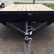 Remorque 102x20 2x5200 lbs Laroche rail pour rouleau freins flatbed deck over