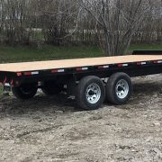 Remorque 102x20 Laroche LA27DE 2x5200 lbs