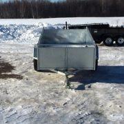 Remorque 54x97 Laroche essieu 3500 lbs côtés 21 po en acier galvanisé