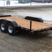 Remorque 80x16 2x5200 lbs LA22ADE Laroche avec rampes