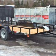 Remorque LA19ADE 6x12 Laroche 2x3500 lbs avec porte rampe