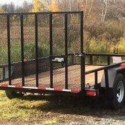 Remorque La19ADE 2x3500 lbs 6x12 porte rampe Laroche