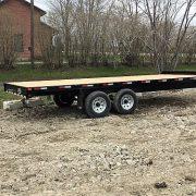 Remorque Laroche 102x20 LA27DE 2x5200 lbs