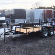 Remorque Laroche 2x3500 lbs 6x12 LA19ADE porte rampe
