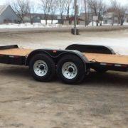 Remorque Laroche 80x16 2x5200 lbs LA22ADE avec rampes