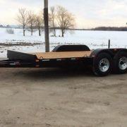 Remorque Laroche LA22ADE 80x16 2x5200 lbs avec rampes