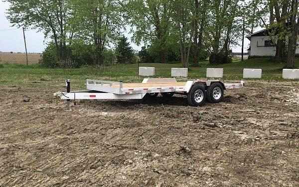 Plateforme en aluminium 80x16 2x3500 lbs