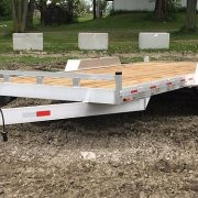 Remorque 2x3500 lbs 80x16 en aluminium