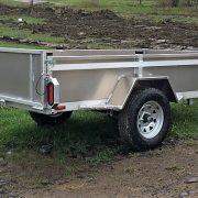 Remorque 4x8 en aluminium utilitaire