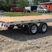 Remorque 102x16 2x3500 lbs Laroche deck over plate forme en acier galvanisé