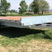 Remorque 2x7000 lbs 102x20 Laroche acier galvanisé