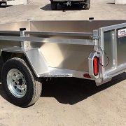 Remorque 54x97 utilitaire essieu 2000 lbs en aluminium