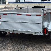 Remorque 6x10 freins Laroche 2x3500 lbs côtés 21 po acier galvanisé