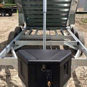 Remorque 7x14 2x7000 lbs GAD7x14 Laroche acier galvanisé