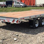 Remorque deck over plate forme 102x16 2x3500 lbs Laroche en acier galvanisé