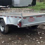 Remorque en acier galvanisé 5x10 roues 14 po essieu 3500 lbs