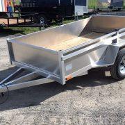 Remorque en aluminium essieu 2000 lbs 54x97 utilitaire