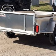 Remorque utilitaire 54x97 essieu 2000 lbs en aluminium