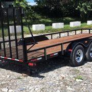 Remorque 80x18 2x3500 lbs Laroche Rampe HD freins