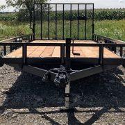 Remorque 80x18 Laroche Rampe 2x3500 lbs rampe HD