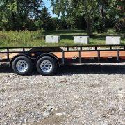 Remorque 80x18 Laroche Rampe HD 2x3500 lbs freins