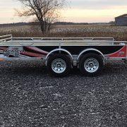 Remorque 68x132 2x2500 lbs UG-68132T Remeq porte rampe