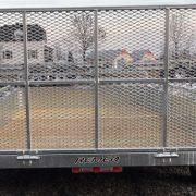 Remorque 68x132 2x2500 lbs porte rampe UG-68132T Remeq