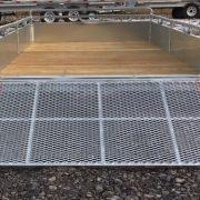Remorque Remeq 68x132 2x2500 lbs porte rampe UG-68132T