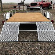 Remorque 68x132 essieu 2500 lbs porte rampe Remeq jack acier galvanisé ancrages UUG-68132