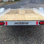 Remorque 52x12 pour motoneige Remeq 1S52EXL acier galvanisé
